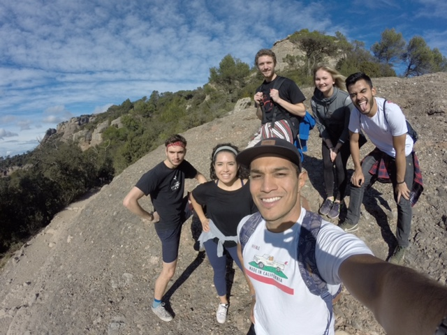Our PR team is so outdoorsy. (we definitely got lost on this 2 mile hike)